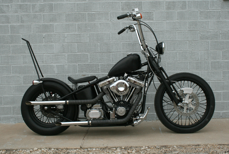 Flyrite Choppers • Old School Bobbers and Choppers • Bike Gallery